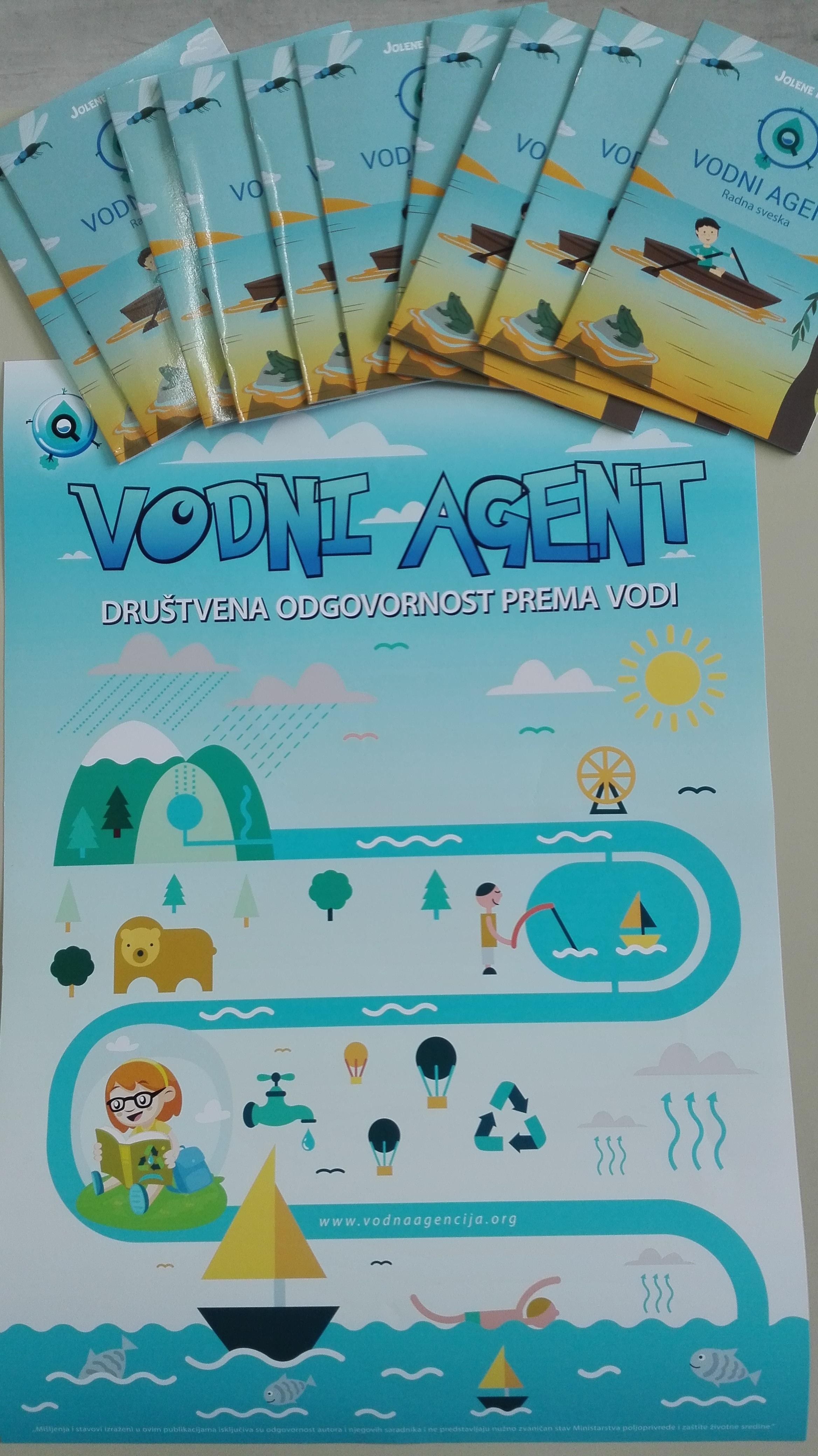"""Пројекат """"Водни агент – друштвена одговорност према води"""""""
